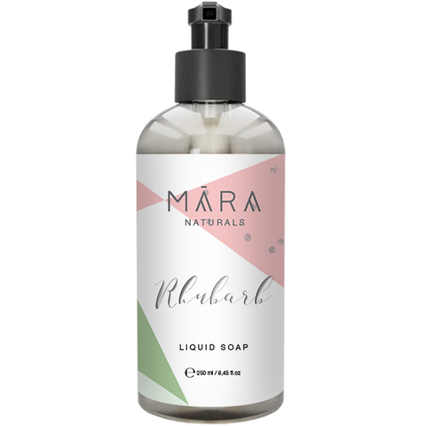 "Liquid soap ""Rhubarb"" 250 ml_Mara Naturals"