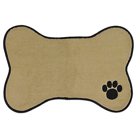 Embroidered Microfiber Dog Placemat