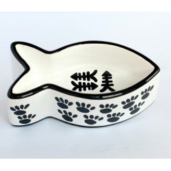 The Paws & Bones Collection - Meow Fish Dish
