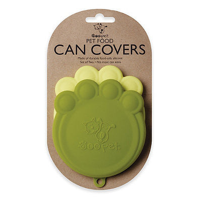 Paw Shaped Can Covers - Moss