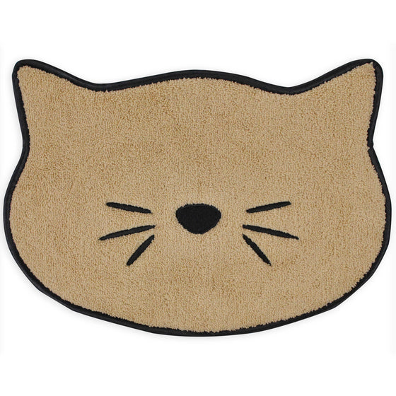 Embroidered Microfiber Cat Placemat