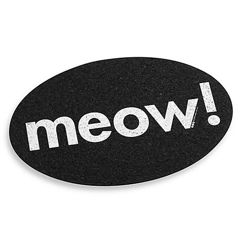 MEOW! Rubber Placemat