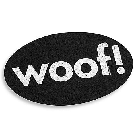WOOF! Rubber Placemat