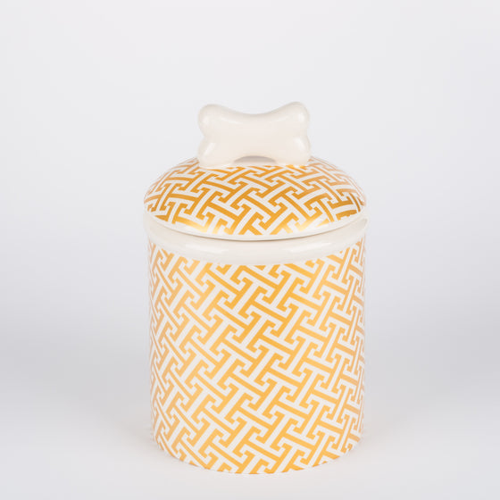 The Gold Trellis Collection - Treat Jar