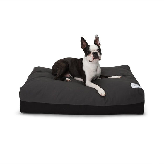 Flip Stitch Bed - Grey/ Black