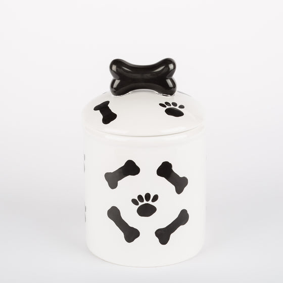 The Paws & Bones Collection - Doggy Treat Jar