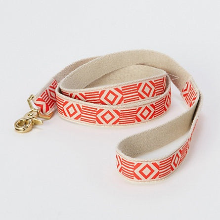 Out Of My Box Cream & Vermillion Leash