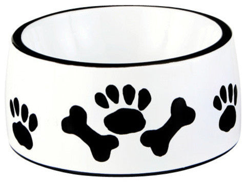 The Paws & Bones Collection - Round Dish