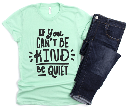 KIND OR QUIET - SHORT SLEEVE TEE (MINT)