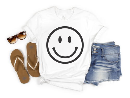 SMILEY - UNISEX WHITE