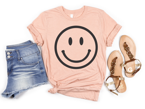 SMILEY - UNISEX PEACH