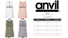 **SUPER STEAL** - KIND HUMAN - VARIOUS MEDIUM TANKS