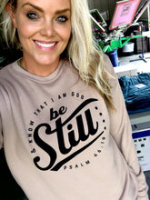 BE STILL - (TAN) CREWNECK SWEATER