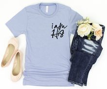 **STEAL** - I AM HIS - SKY BLUE TEE