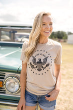 IN GOD WE TRUST- UNISEX TAN TEE