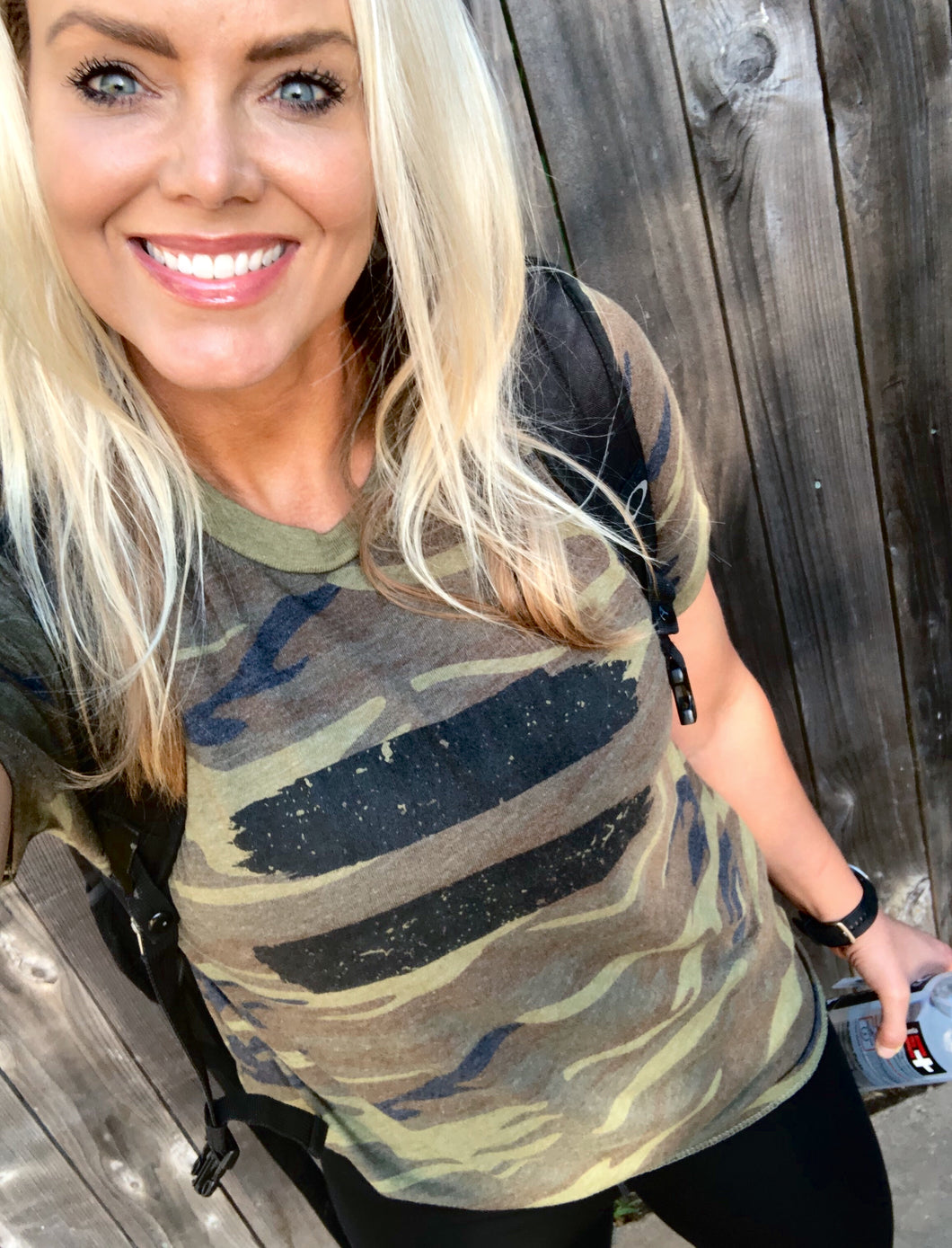 ALL EQUAL - UNISEX CAMO SHORT SLEEVE TEE