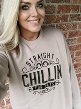 CHILLIN - (TAN) CREWNECK SWEATER
