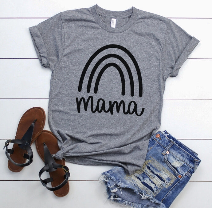 MAMA + MINI (ONESIE, TODDLER, YOUTH, ADULT) GREY