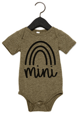 MAMA + MINI (ONESIE, TODDLER, YOUTH, ADULT) OLIVE