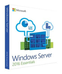 Microsoft Windows Server 2016 Essentials (2-CPU)