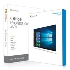 Windows 10 Pro & Office 2016 Pro