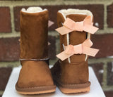 Giavonna Winter Bow Boot