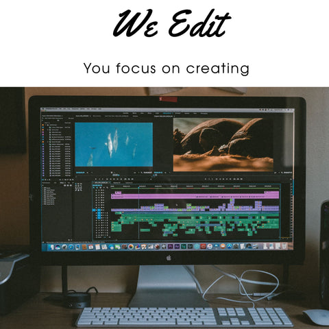 Video Editing  (Monthly Subscription Basic)
