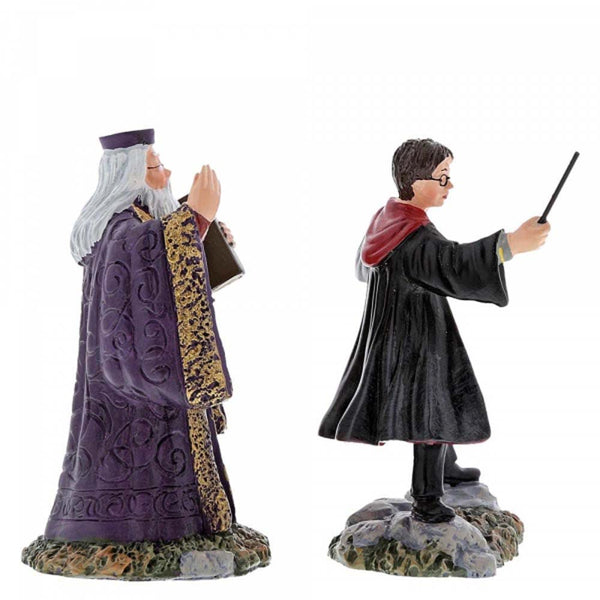 Harry Potter Village Harry and The Headmaster Figurine 8cm