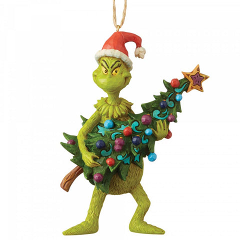 The Grinch Holding Tree Hanging Ornament