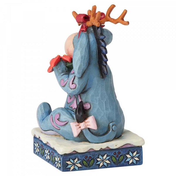 Disney Traditions Winter Wonders (Eeyore Christmas Figurine)