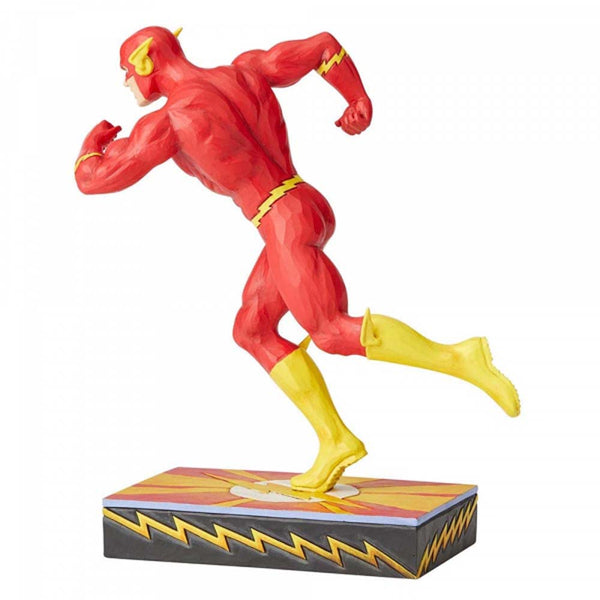 DC Comics By Jim Shore Flash Silver Age Figurine 22cm