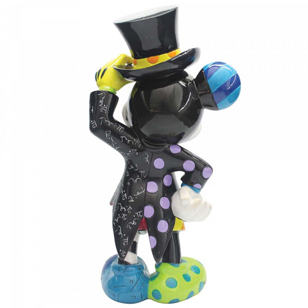 Disney Britto Mickey Mouse with Top Hat Figurine 23cm