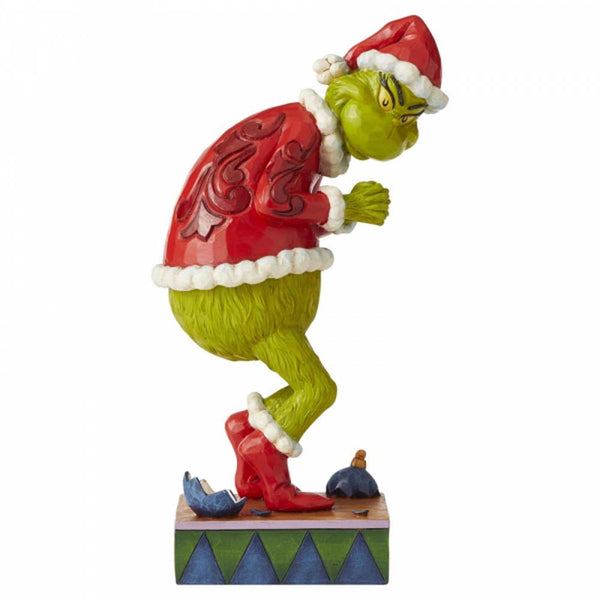 Enesco SNEAKY GRINCH FIG  CAST STONE 6006566