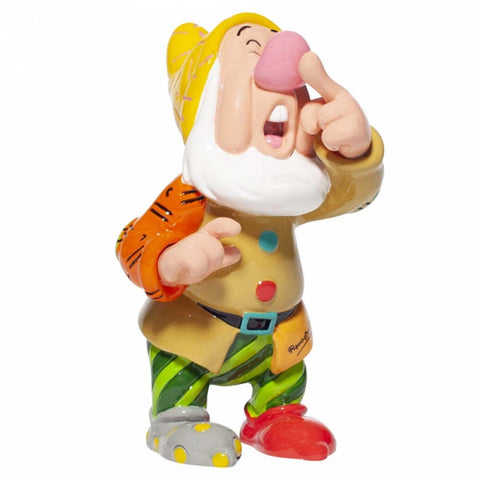 Disney Britto SNEEZY MINI FIGURINE 6007105