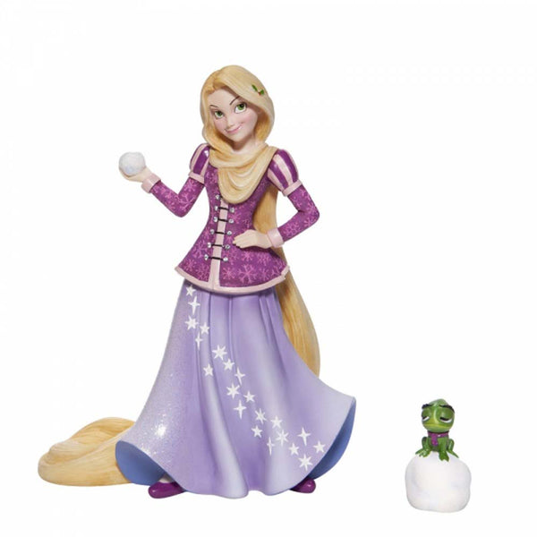 Enesco HOLIDAY RAPUNZEL FIGURINE  CAST STONE 6006275