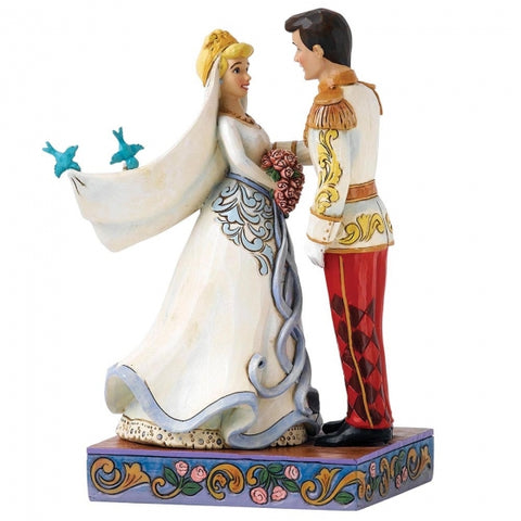 Disney Traditions Cinderella Happily Ever After (Cinderella & Prince Figurine) 15 x 8 cm
