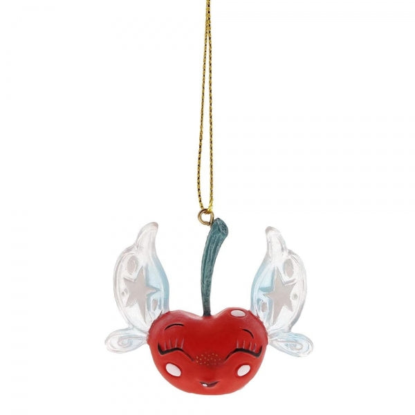 Miss Mindy Cherry Fairy Christmas Hanging Ornament