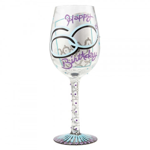 Lolita 60th Birthday Wine Glass Boxed