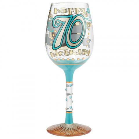 Lolita 70th Birthday Wine Glass Boxed