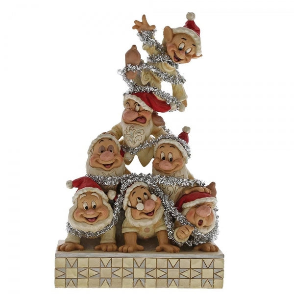 Disney Traditions Precarious Pyramid (Seven Dwarfs Figurine)