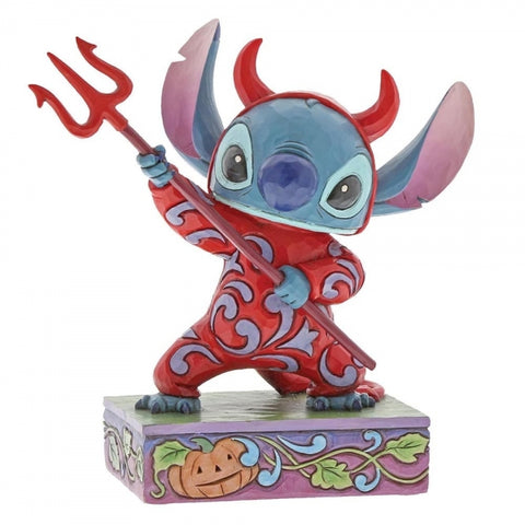 Disney traditions Halloween Devilish Delight (Stitch Figurine)