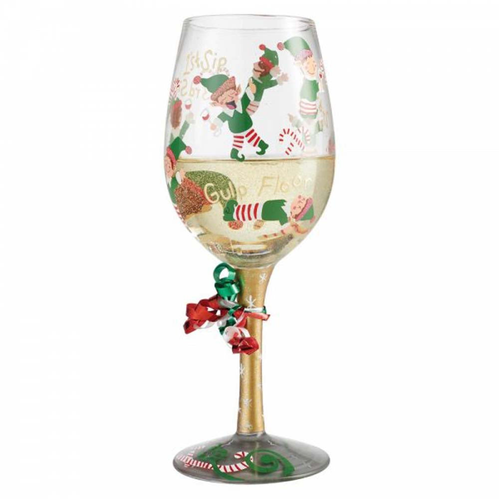 Lolita Tipsy Elf Wine Glass