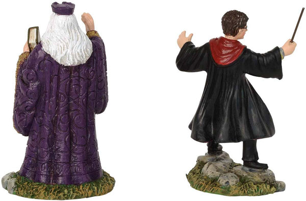 Harry Potter Village by D56 HARRY AND THE HEADMASTER FIG 6002314