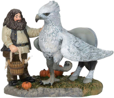 Harry Potter Village Hagrid - A Proud Hippogriff, Indeed