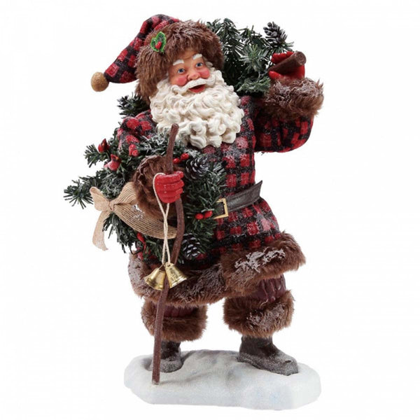 Possible Dreams SANTA WOODSMAN'S GIFT Christmas Figurine 6003844