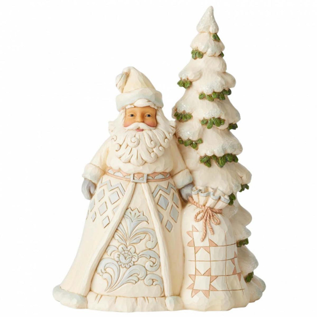 Heartwood Creek by Jim Shore WOODLAND SANTA WITH TREE 6004168
