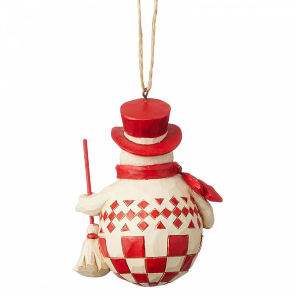 Heartwood Creek by Jim Shore NORDIC NOEL SNOWMAN ORNAMENT 6004232