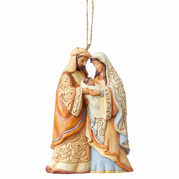 Jim Shore HOLY FAMILY Christmas Hanging Ornament 6004319