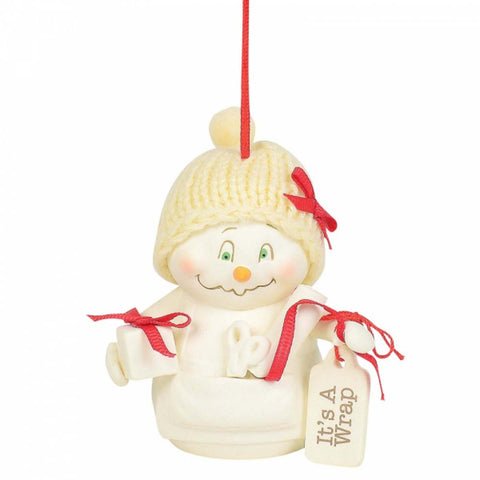 Snowpinions IT'S A WRAP Christmas Hanging Ornament 6003279