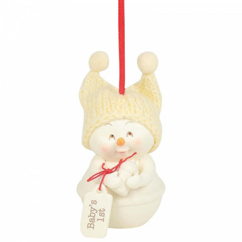 Snowpinions BABY'S 1ST ORNAMENT Christmas Hanging Figurine 6003283